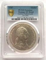 Austria Netherlands 1787 Thaler PCGS Silver Coin
