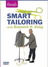 Smart Tailoring with Kenneth D. King by Kenneth D. King (2014, DVD) Ex-Library