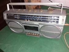 SHARP GF-4343 Boombox Radio Cassette Recorder Stereo