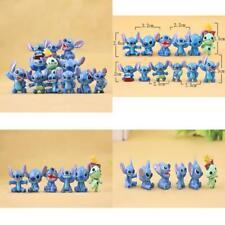 12pcs/set Cute Lilo Stitch Mini PVC Action Figures Figure Toys Lovely Collection