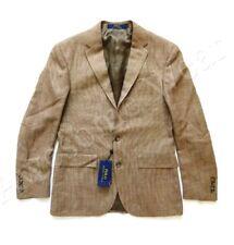Polo Ralph Lauren 44L Custom Fit Silk Flax Blazer Sport Coat $895