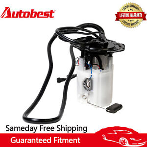 Autobest F4490A Electrical Fuel Pump For 2003-2011 Saab 9TB3HU L4 1985cc 2.0L
