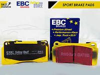 FOR NISSAN GTR R35 REAR EBC YELLOW STUFF UPGRADED PERFORMANCE BRAKE PADS GT-R