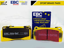 FOR NISSAN GTR R35 REAR EBC YELLOW STUFF UPGRADED PERFORMANCE BRAKE PADS GT-R