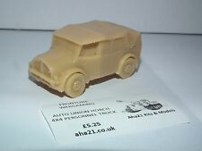 WWII GERMAN AUTO UNION HORCH 4X4 PERSONNEL TRUCK RESIN MODEL KIT - G6