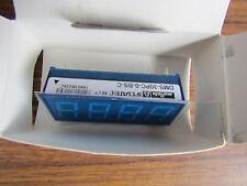 Murata Digital Panel Voltmeter DC, LED display 3.5-Digits 53.8x22.3mm P1 8103380