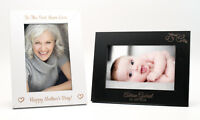 Personalised Photo Picture Frame, Wedding Birthday Baby Mother's Day Anniversary
