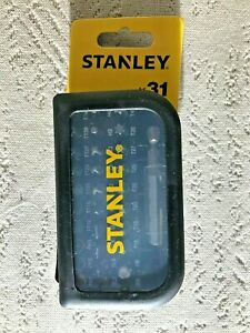 Stanley 31 Piece Colour Coded Screwdriver Bit Set with Magnetic Holder STA60490