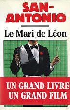 EO 1990 + DÉDICACE FRÉDÉRIC DARD + SAN-ANTONIO + BANDEAU : LE MARI DE LÉON