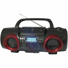 Bluetooth Naxa Portable Stereo Boombox MP3 CD Player AM/FM Radio AUX-IN USB