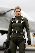 Jessica Biel -Stealth Movie Screen Worn Flight Pants / Tag & COA