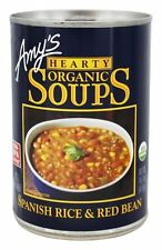 Amy's - Organic Hearty Soup Spanish Rice & Red Bean - 14.7 oz.