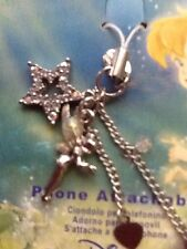 Disney Store London TINKERBELL CELL  PHONE DANGLE CHARM Fairies TINK NOC
