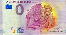 BILLET 0 EURO LA MONTAGNE DES SINGES  FRANCE 2020 NUMERO DIVERS