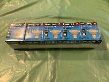 5 Pack PHILIPS HALOGEN MR16 50 WATT LAMPS BULBS 12V