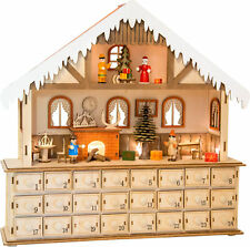 Living Room Advent Calendar With Lights - Small Foot - 10546