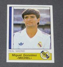 125 MICHEL MERENGUES REAL MADRID PANINI LIGA FUTBOL 87 ESPAÑA 1986-1987 FOOTBALL