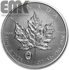Kanada - 5 Dollar 2016 - Maple Leaf - Privy Mark Yin Yang - 1 Oz. Silber