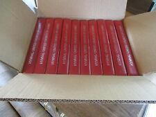 10 HYMN BOOKS RED slightly used 381 hymns bible readings litanies index & more