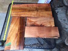 "Ultra Premium Curly Koa Wood From Hawaii 7@15-24""x2-6x1"""