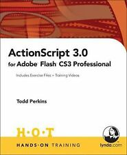 NEW - ActionScript 3.0 for Adobe Flash CS3 Professional Hands-On Training