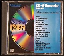 CD-G Karaoke Sing Along: The Professional Series Vol 25 (CD, 1994 Pioneer)