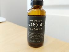 Monat BLACK Beard Oil - 1oz