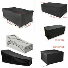 Waterproof Garden Patio Furniture Cover for Rattan Table Chair Cube Outdoor UK