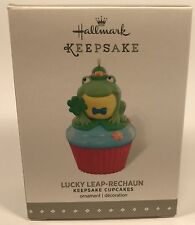 Hallmark Keepsake Ornament Lucky Leap-rechaun 8th In The Cupcake Monthly Series