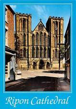 Ripon Cathedral West Front Auto Car