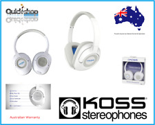 Koss BT539i Bluetooth Foldable Wireless Headphones White