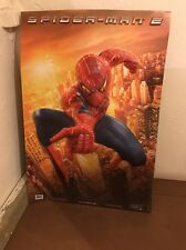 "SpiderMan 2 Movie Banner 40"" 28"" - ORIGINAL UK Cinema Poster (MINT)"
