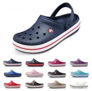Summer Lightweight Men Women Croc Sandals Casual Clogs Beach Slippers Shoes AU
