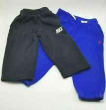 2 Polo Ralph Lauren Toddler Boys Blue and Nike Black Pull On Sweatpants Size 2T