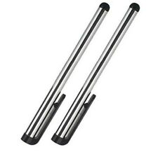 2pc Stylus Touch Pen for iPad iPhone 5S 6S Samsung HTC Moto Kindle Tablet Silver
