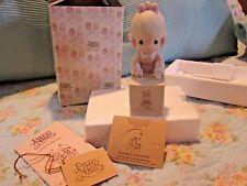 1987 Enesco Precious Moments Special Ed. Figurine - Sharing Is Universal E-0007