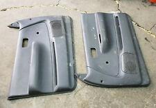 93 94 95 96 97 98 Toyota T100 Pickup Truck Manual Door Panel Set Grey Left Right