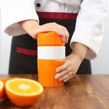 Portable Manual Juicer Orange Juice Bottle Fruit Squeezer Machine Extractor