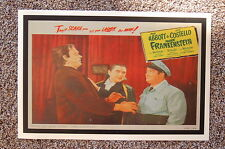 Abbott & Costello Meet Frankenstein #3 Lobby Card Movie Poster