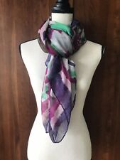 Geometric Lightweight Scarf Urban Outfitters Multi Color Summer