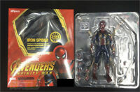 The Avengers 3 Iron Spider-Man PVC Figure Model 14cm