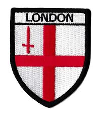 Patche écusson London LONDRES brodé blason patch thermocollant armoiries