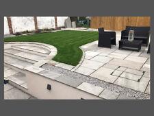 Hand-Cut Natural Stone Paving - Kandla Grey Sandstone | Garden Patio Flags Slabs
