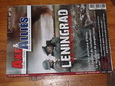 10µµ Revue Axe & Alliés n°21 Siege Leningrad Division Handschar France 1940