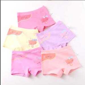 5er Pack Mädchen Pantys Unterhose Unterwäsche Slips Kinder Shorts