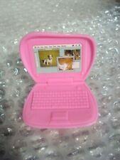 Barbie Size Dollhouse Accessories Laptop Computer & Clip Board for Barbie dolls