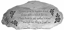 New listing Cathedral Art Roses Memorial Garden Stone