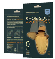 Exciting New Transparent Sole Protectors For Men's Shoes