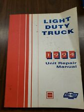 1994 Light Duty Truck Unit Repair Manual in good condition clean cover / pages