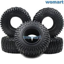 5Stk 2.2'' Crawler Reifen Soft Tire für RC 2.2 beadlock Felgen Hex 12mm Radnaben
